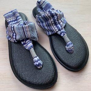 Sanuk | multicolored yoga sling sandals
